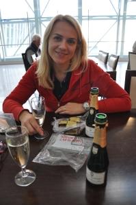 Džiovinti cepelinai su prabangiu šampanu :)