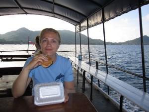 Pusryčiai laive