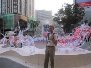 Kuala Lumpure sutikome Šiaurės elnius