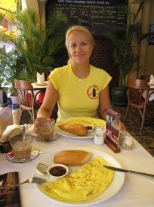 Pusryčiams - įvairūs omletai