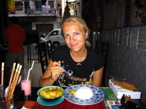 Khmerų amok sriuba-troškinys